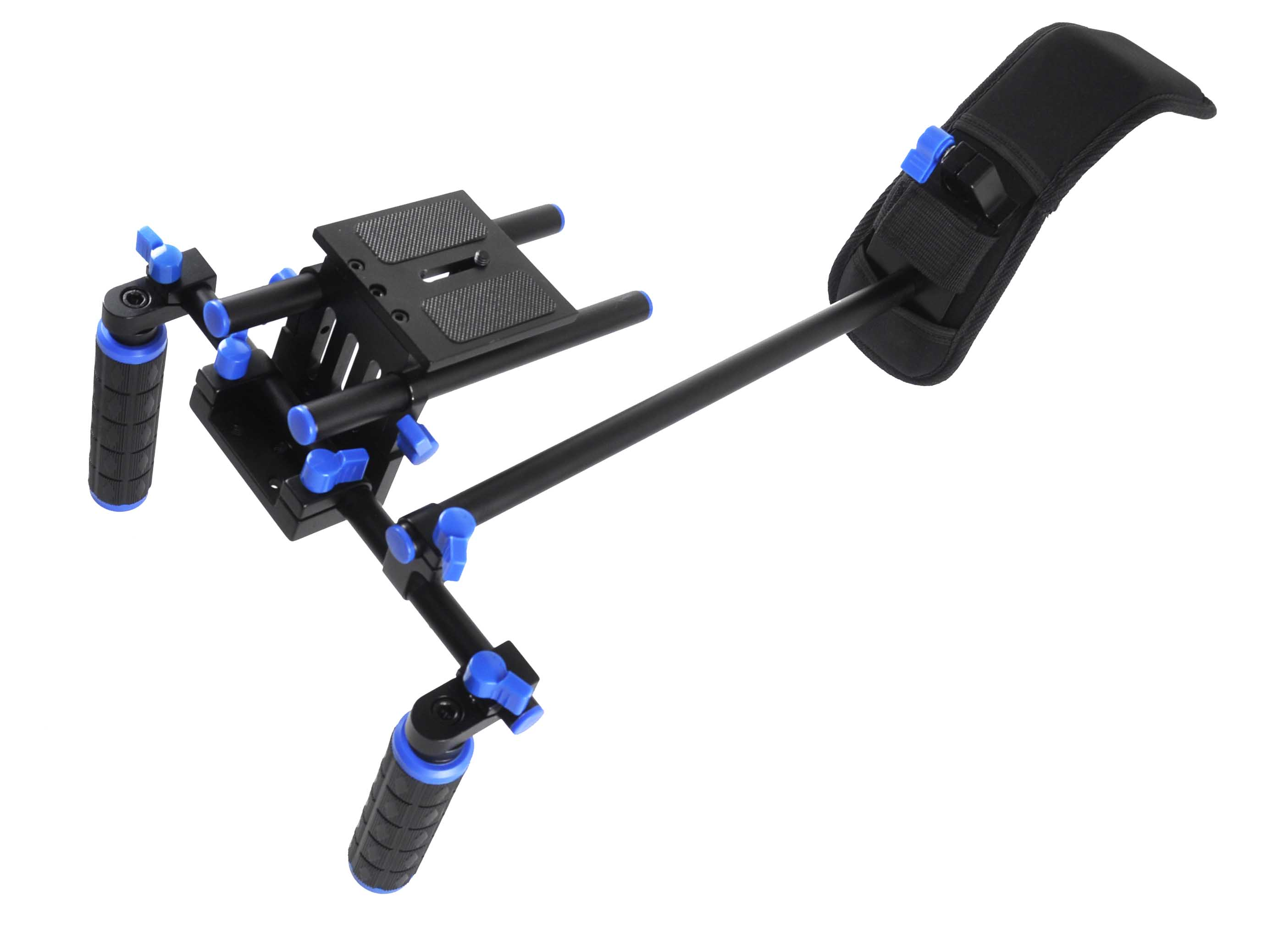 CAMERA BRACKET 02 FOR DSLR RIG /PHOTOGRAPHIC SHOULDER MOUNT WITH FOLLOW FOCUS