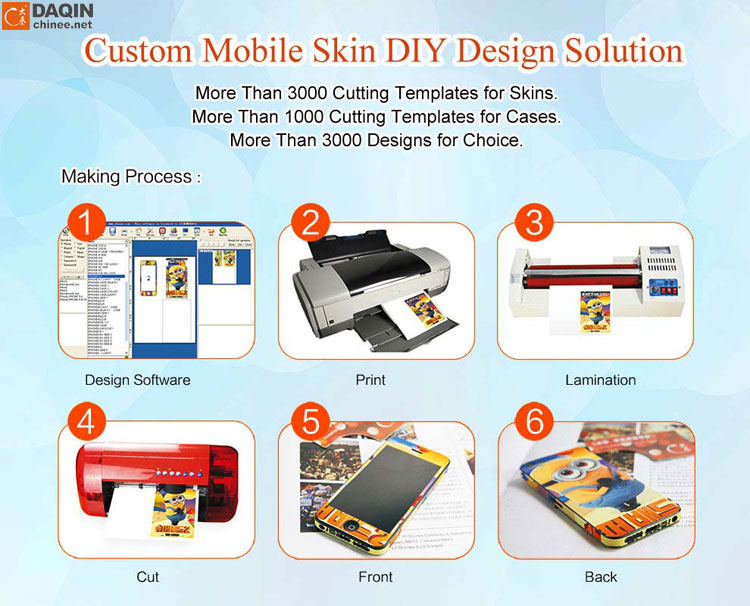 Home Based Business Ideas Mobile Phone Skin Printer for Any Phone model