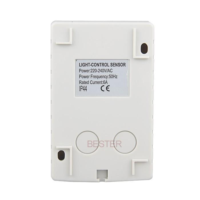 Light Control Sensor,Brightness Sensor Light Switch With 3 ...