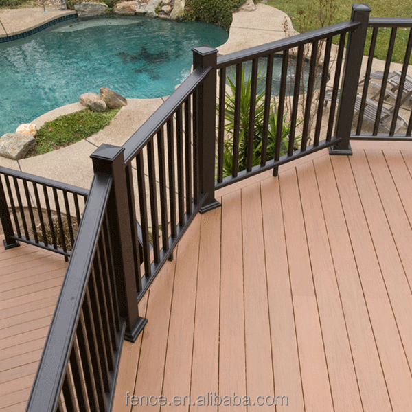 Pvc cheap deck railings buy cheap deck railings pvc for Cheapest place for decking