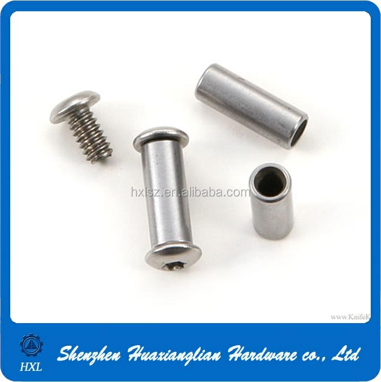 China Custom Binding Screw Steel Zinc Plated M1.5 M3 M6 M8