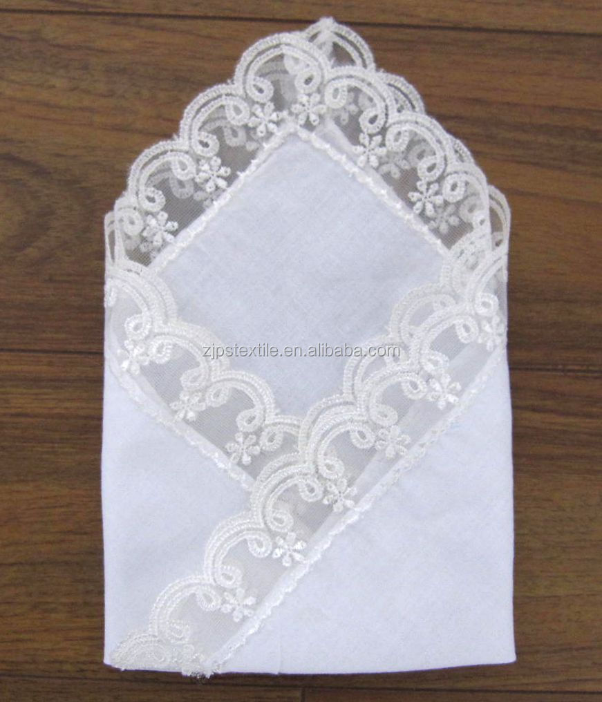 Bumblebee Linens sells a variety of ladies handkerchiefs at great prices and for a variety of occasions. Since we specialize in handkerchiefs, we currently offer the largest selection on the Internet.