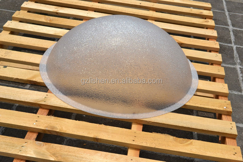 Polycarbonate Outdoor Round Plastic Frostedb Ceiling Light