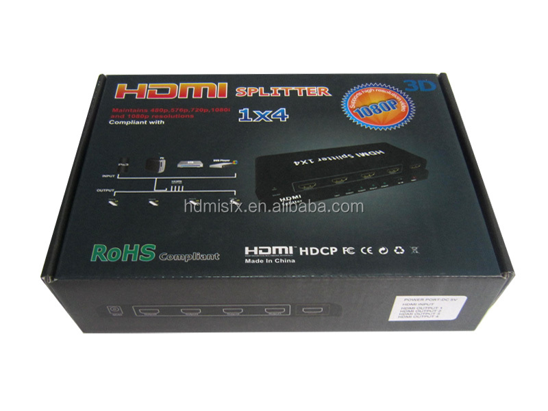 1080p 3d 1 3v 4 Port Hdmi Splitter Argos With Factory Price Buy 4