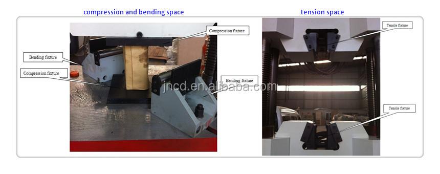 we 600b digitalanzeige hydraulische universalpr fmaschine. Black Bedroom Furniture Sets. Home Design Ideas