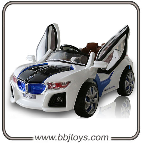 new design kids ride on car with rc6v driving electric toy car with two