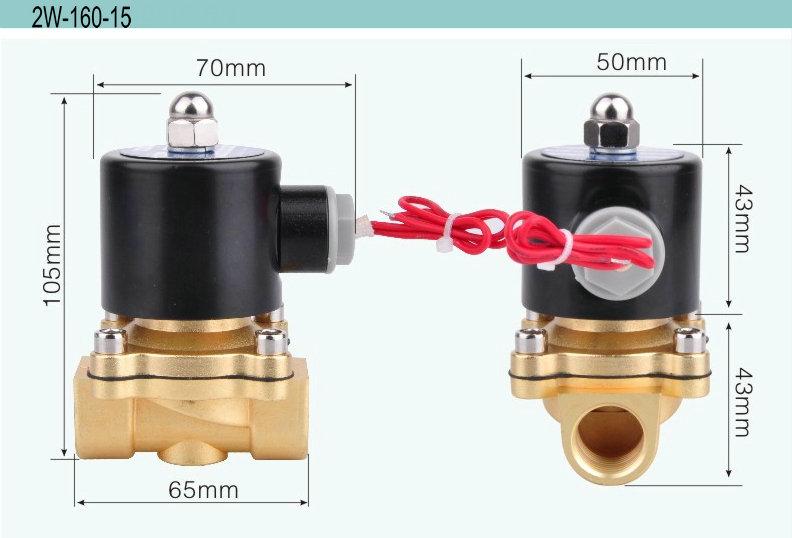 Irrigation Quick Acting 2 Air Solenoid Valve 12v Dc