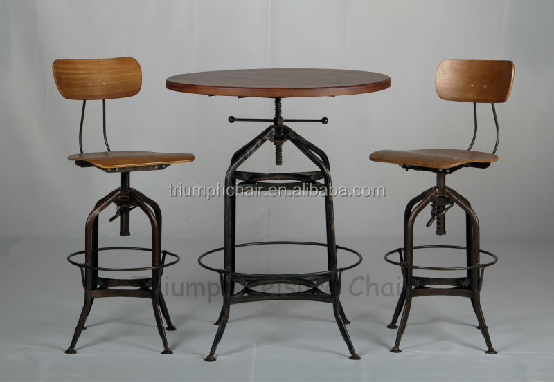 Triumph Top Height Adjustable Bar Table Bar Cocktail Tables And ...