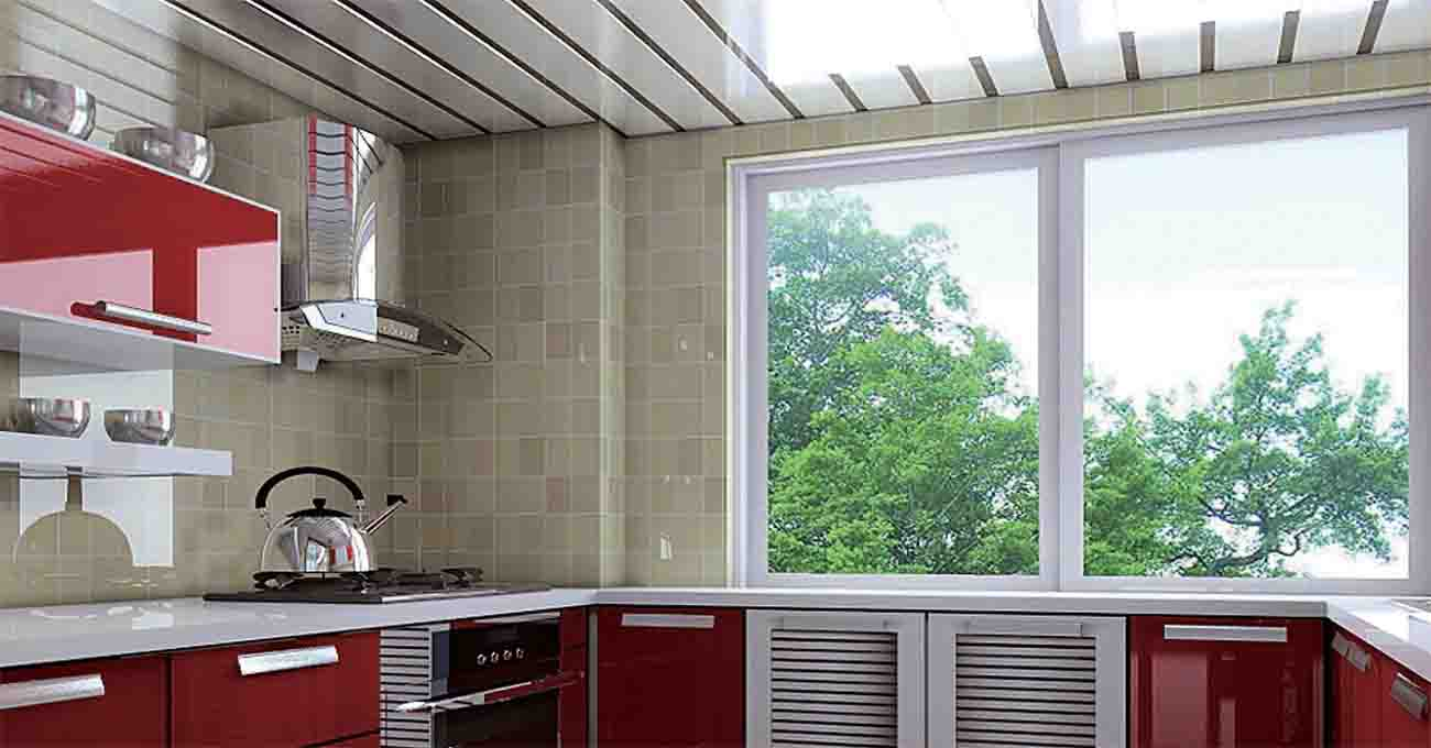 Kitchen Use Wall Covering Panels Of Heat Resistant Ceiling Material