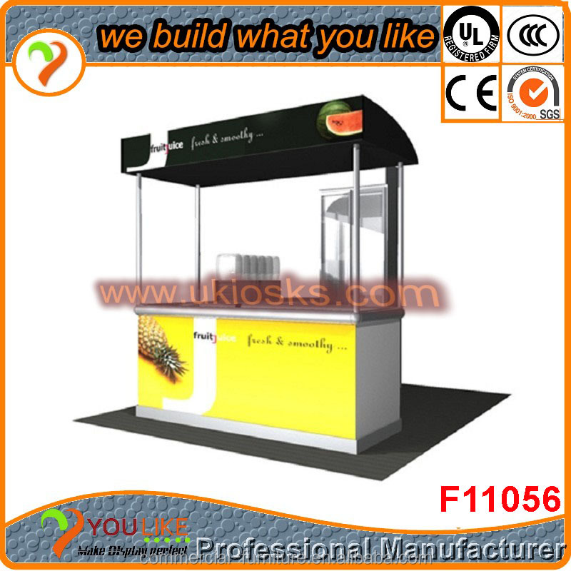 Customized food cart mobile food cart design for sale ice