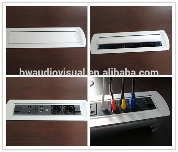 Motorized flip up conference table connection box for wooden table motorized flip up conference table connection box for wooden table greentooth Gallery