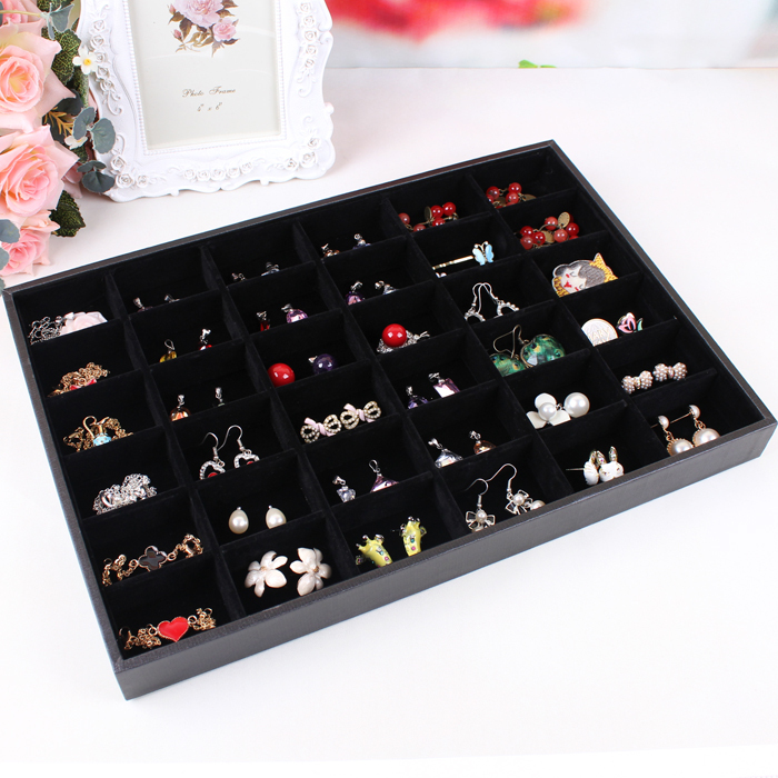 Whole Free Shipping Jewelry Set Box Cosmetics Earrings Hair Accessories Receive A Case Display Shelf