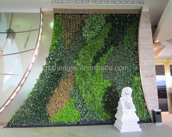 Indoor Grün Künstliche Pflanze Wand,Garten Künstliche Pflanze ...