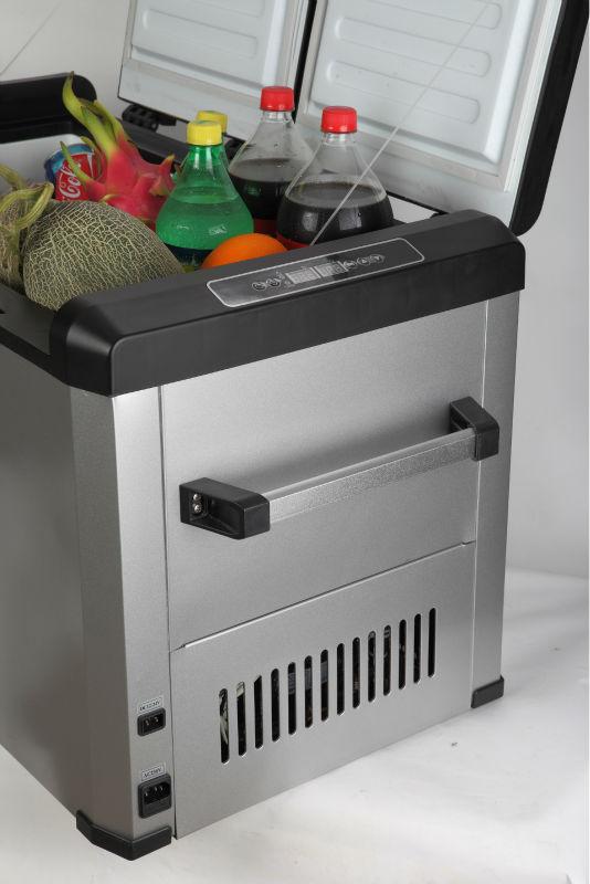 Doppio distanziati portatile mini frigorifero congelatore