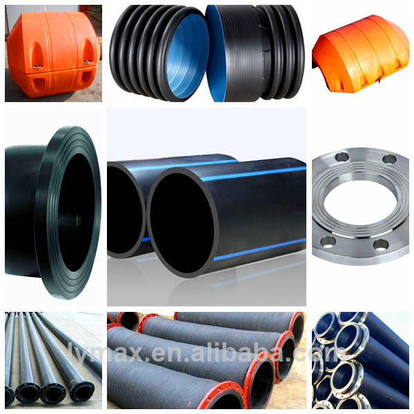 Iso od mm hdpe dredging pipe water