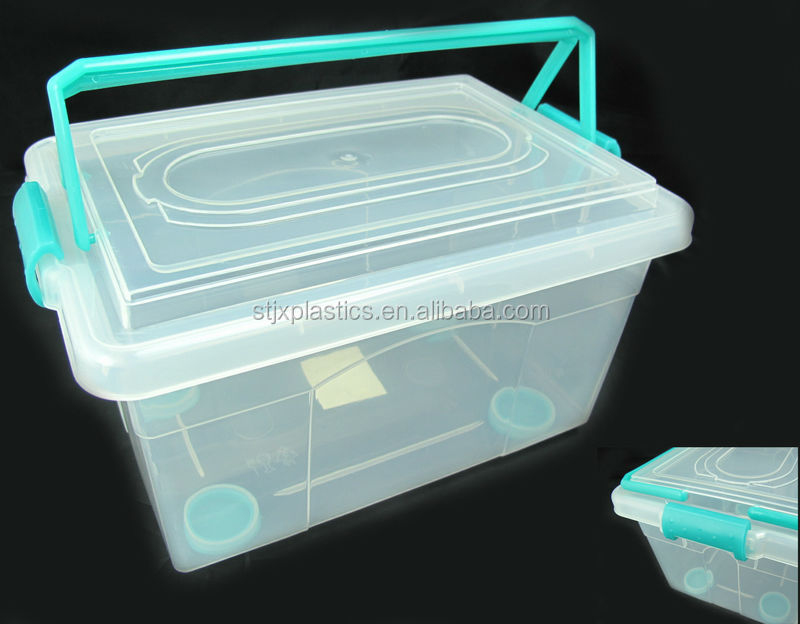 Household Item Large Plastic Container Storage Container