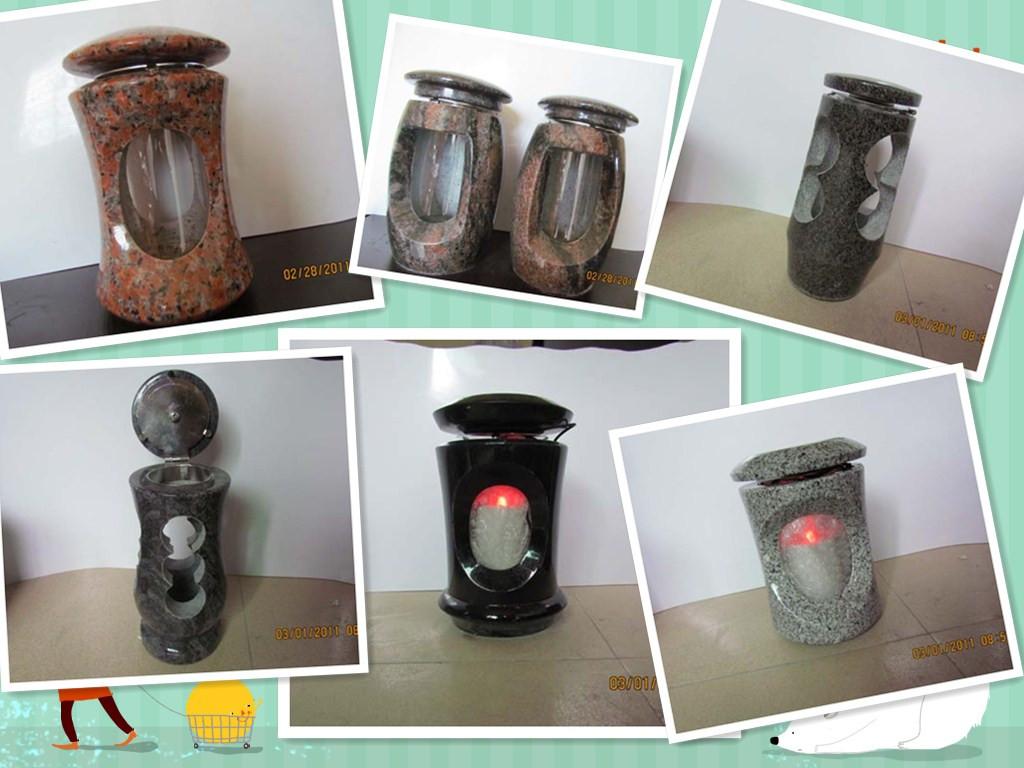 lampe pour la d coration de la pierre tombale de granit pierres tombales monument id de. Black Bedroom Furniture Sets. Home Design Ideas
