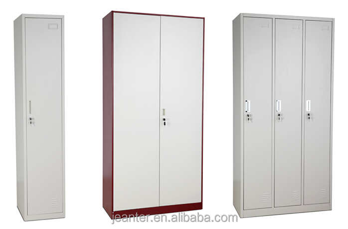 KD Structure Modern Thin Rimmed Steel Locker Closet Wardrobe For Dog Clothes