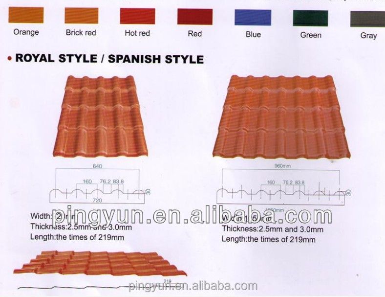 Plastic Pvc Roofing Sheet Roofing Sheet Sizes Corrugated