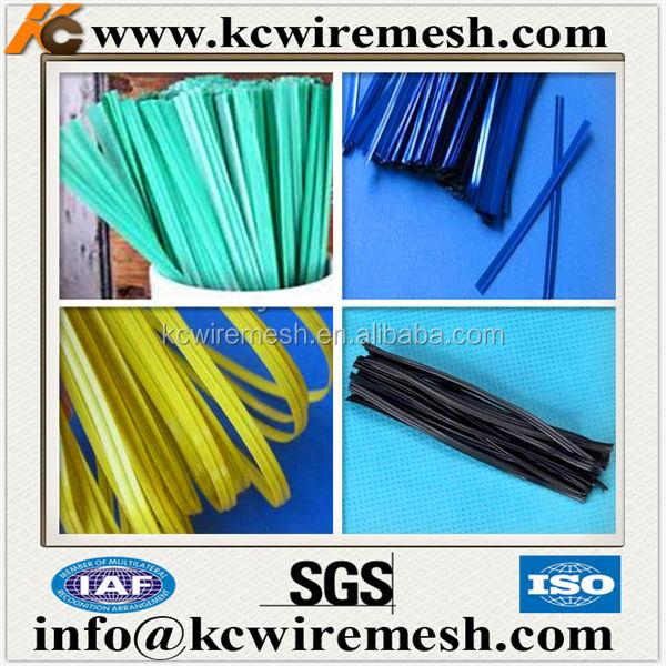 Metallic Plastic One Or Double Wire Twist Tie Roll - Buy Metallic ...
