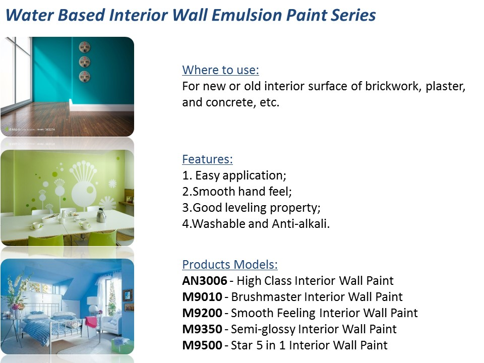 Maydos Eco Friendly Washable Latex Acrylic Resin Interior Silk Plaster Wall  Paint