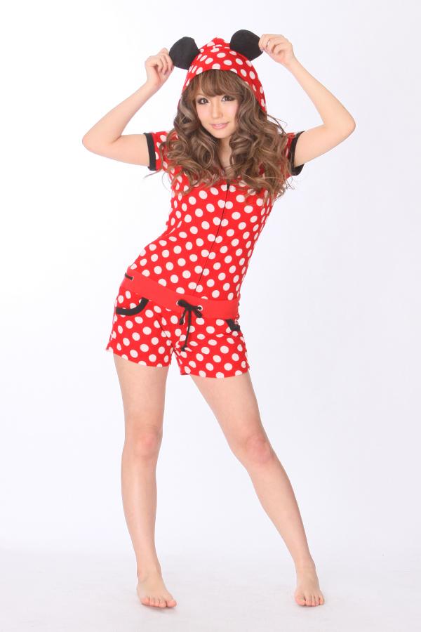 e58dc55b0060 Detail Feedback Questions about Cartoon Kawaii Anime Minnie Summer Onesie  Women Pajama Female Cotton Hooded Cosplay Pyajamas Sleepwear S M L on ...