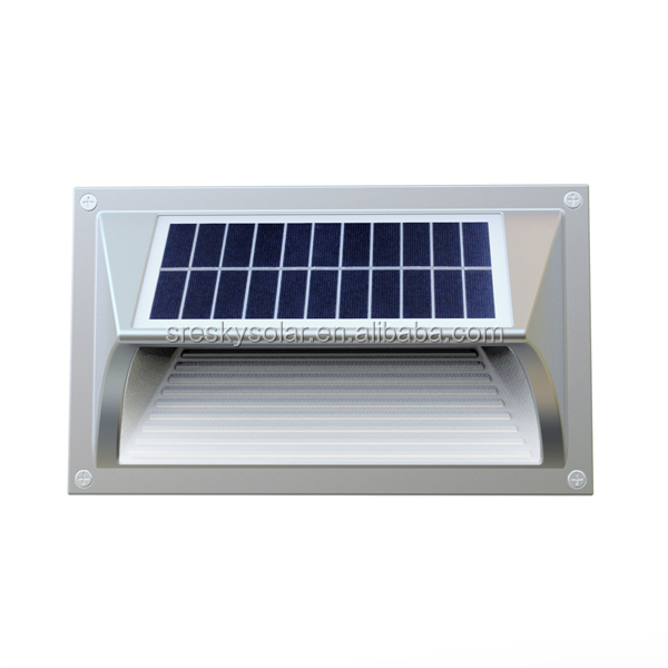 Waterproof Wall Mounted Outdoor Stairs Portable Small Solar Light ...