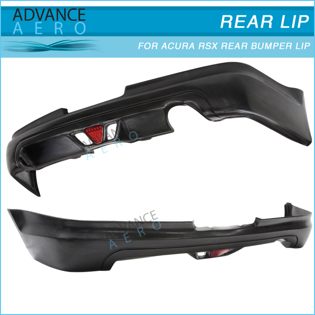 For Acura Rsx Coupe 2dr 2005-2006 Mug Style Rear Bumper