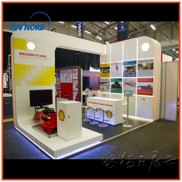 Simple Exhibition Stand Out : M light and simple exhibition stand pop up potable