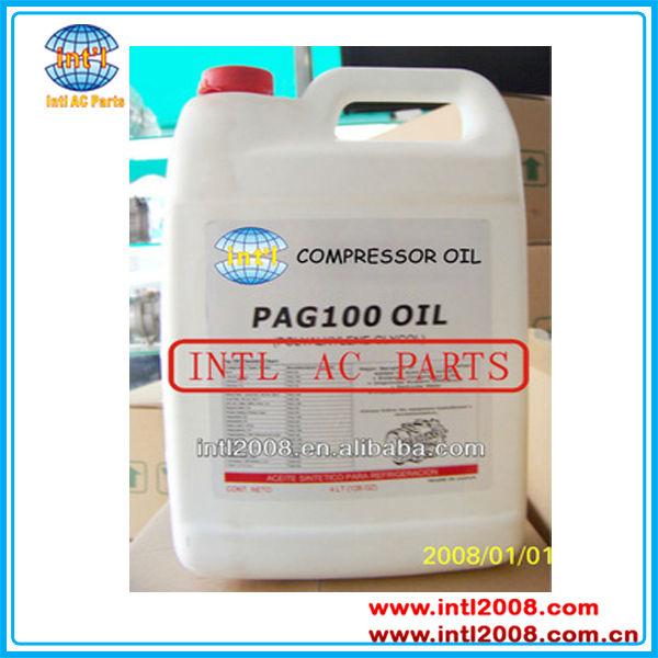 4l Pag 46 100 150 A/c Compressor Refrigerant Lubricant Oil 99 9% Purity  R134a - Buy 4l Pag 46 Pag 100 Pag 150 A/c Compressor Lubricant Oil,Pag Oil