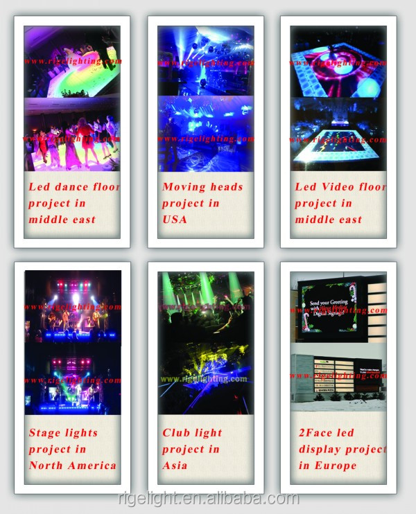 Portable Ip P Outdoor Colorful Led Video Dance Floor To Display - Led dance floor for sale usa