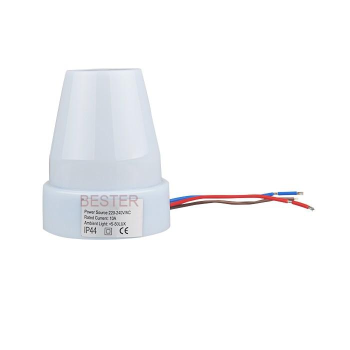 Adjustable AC 220V  Auto Photo Control Sensor Light Switch Waterproof