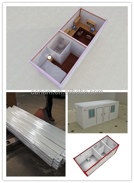 Prefab eco-type steel structure container house for sale