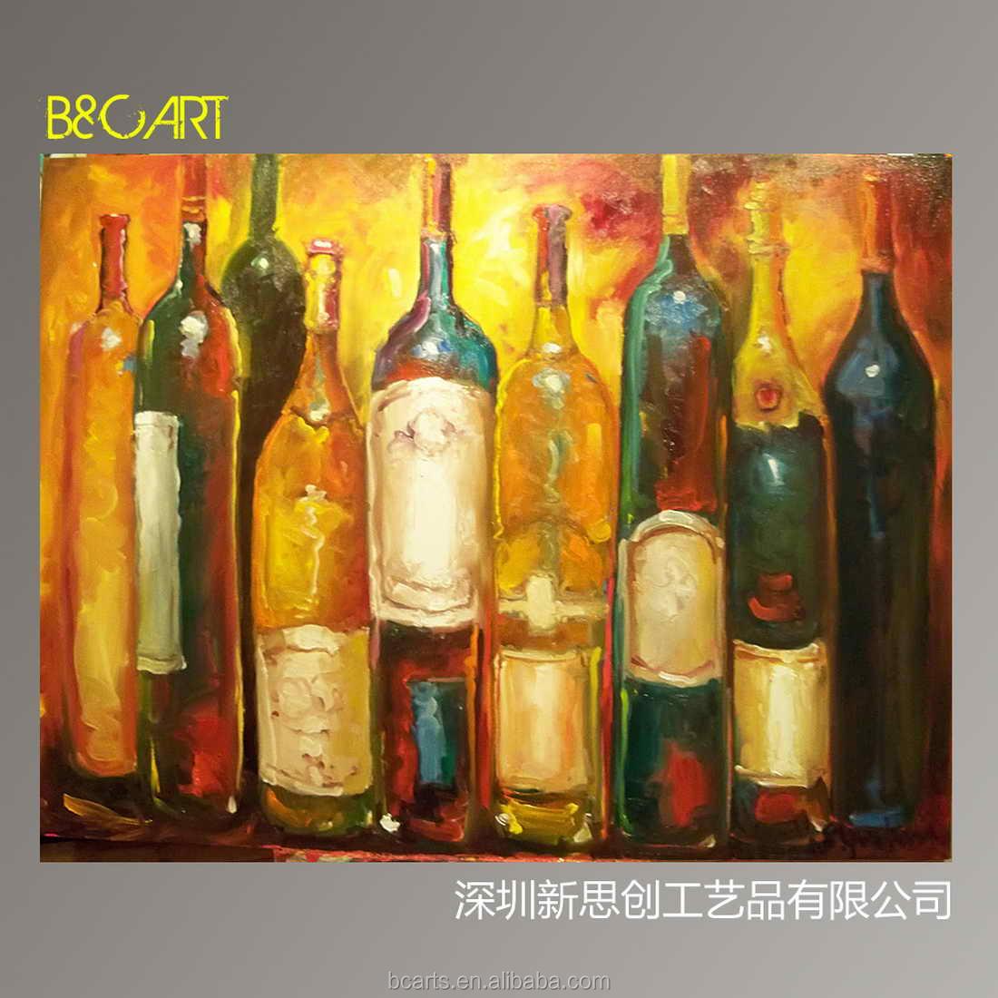 Kitchen Decor Wine Bottles