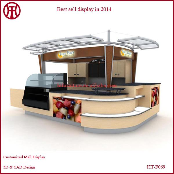 3d Max Design For Retail Store Juice Kiosk Design Juice