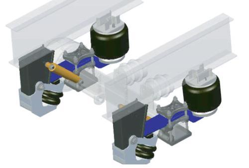 Trailer Air Bags : Semi trailer air bag suspension buy