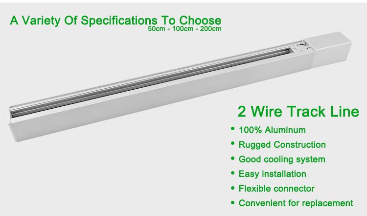 4 wires track system for led track lighting 05m 1m 2m view 4 4 wires track system for led track lighting 05m 1m 2m mozeypictures Image collections