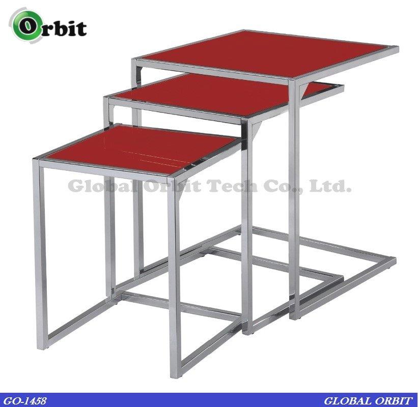 Furniture Steel Center Table Modern Gl Nesting
