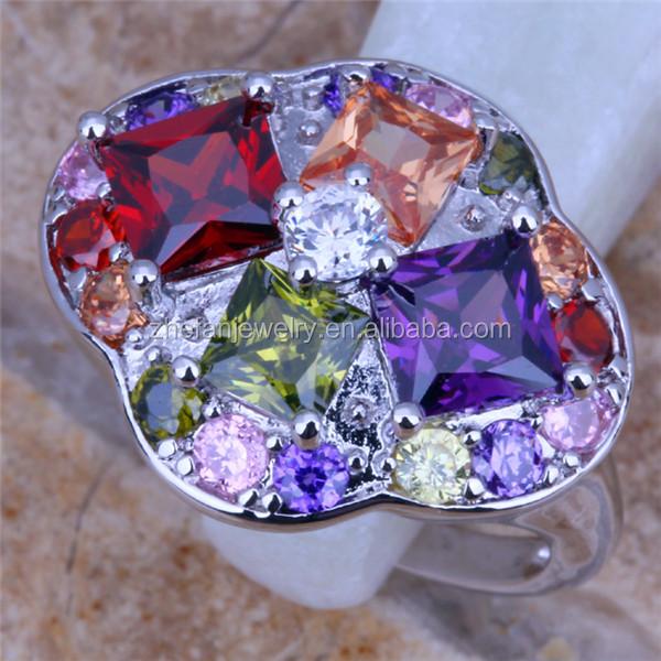425e120b6371 Grandes anillos de joyería grande de color anillo de diamante de piedra  especial diseño anillo de