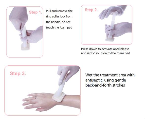 Skin Prep Sterile Medical Chlorhexidine Antiseptic Chg