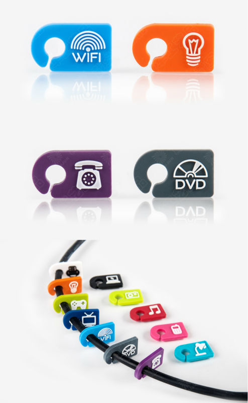 Eco-friendly fashion cute cable tag, View cable tag, DaiJun Product ...