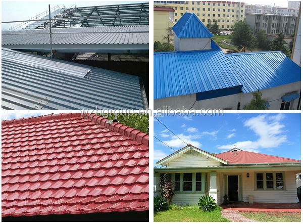 Yx25 210 840 Metal Roofing Sheet Design For Prefab House