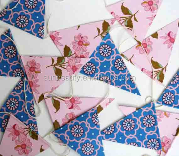 The Latest Paper Flag Garland DecorationPaper Garland Party