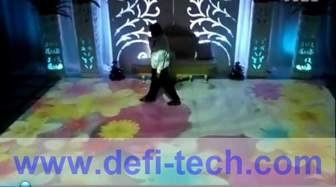 NEW!!! Interactive floor projection /Interactive wall projection with 130 effects for Wedding/Advertising