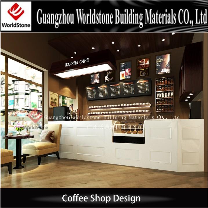 Coffee Shop Bar Counter Led Bar Counter Shop Cash Counter