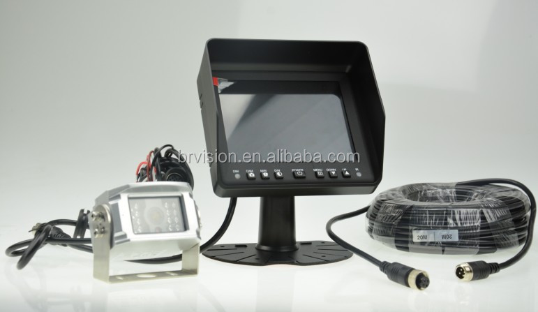volvo v50 car side view camera monitor with 24v