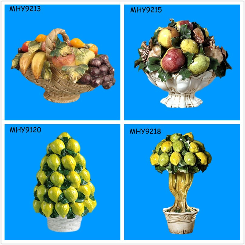 Beautiful Italian Ceramic Fruit Decor With Lemonde Product On Alibaba