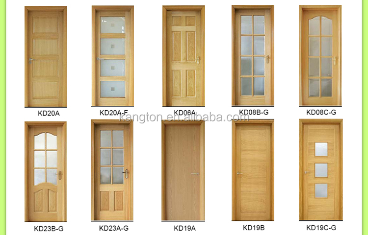 Superior 2016 Kangton Top Quality Interior Door With Glass Inserts, Wood Glass  Design Interior Door,