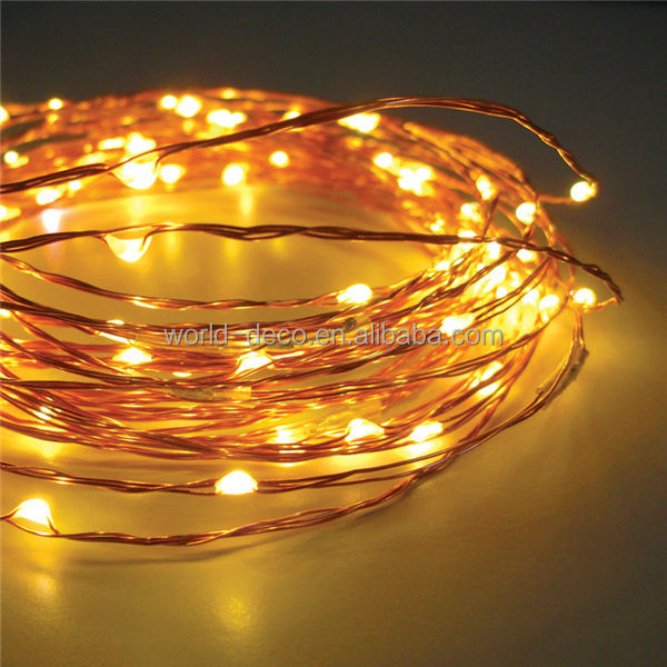 Led Battery String Lights Michaels : 3v Micro String Lights Battery Operated Copper Wire Fairy Light Waterproof Led Mini Copper Wire ...