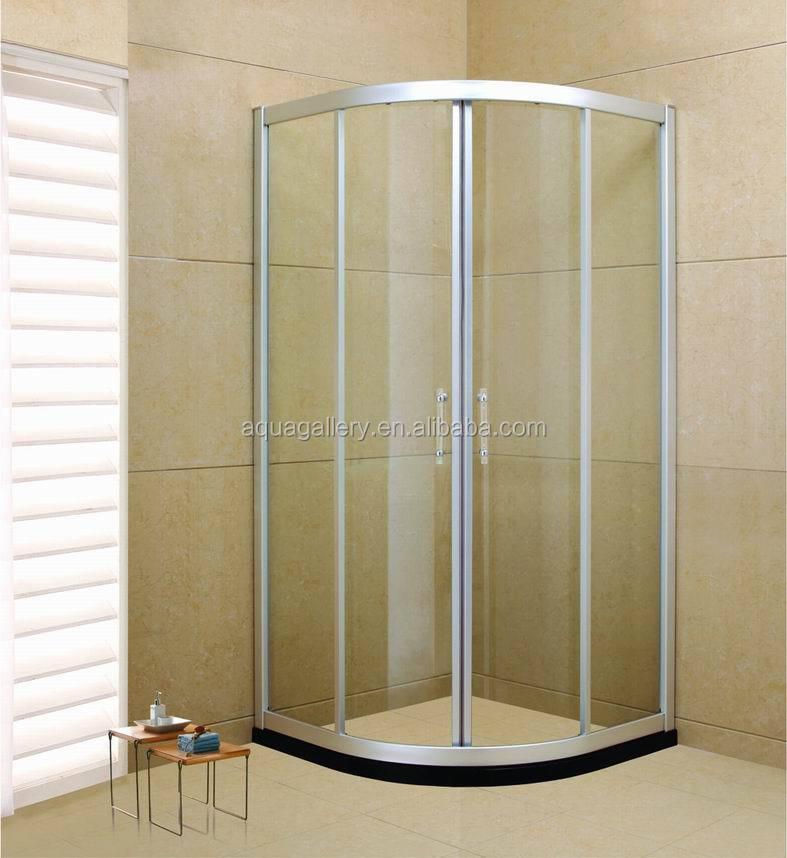 Quarter Circle Bathroom Corner Shower Enclosure With